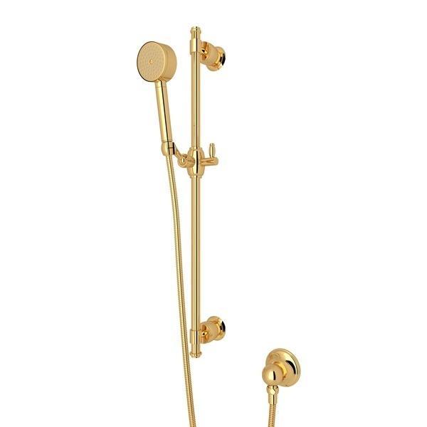Italian Brass Michael Berman Zephyr Single-Function Handshower Set