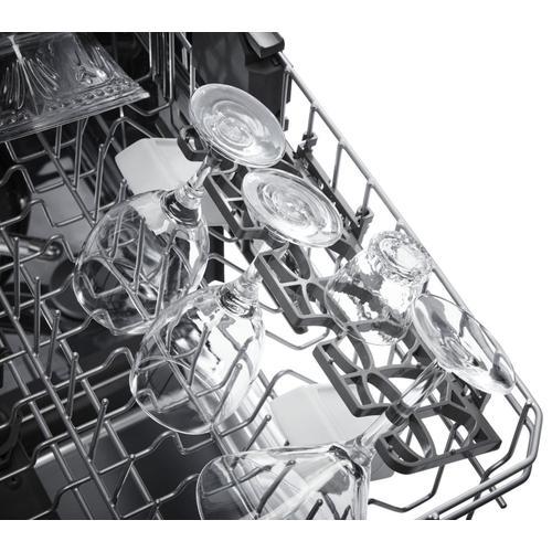 KitchenAid - 46 DBA Dishwasher with ProWash , Front Control Black
