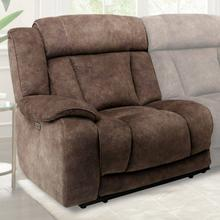 View Product - TITUS - HUDSON BROWN Power Left Arm Facing Recliner