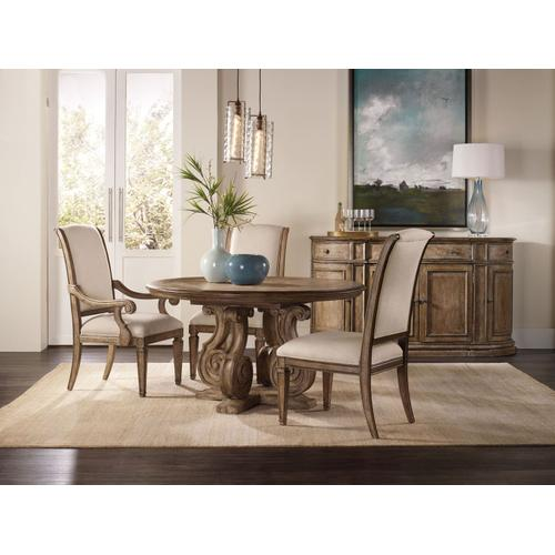 Dining Room Solana Upholstered Arm Chair - 2 per carton/price ea