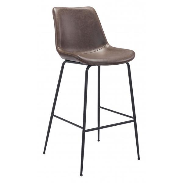 Byron Bar Chair Brown