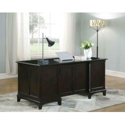 Garson Transitional Cappuccino Desk