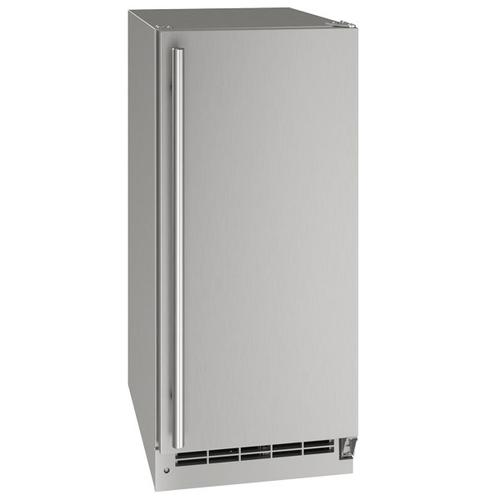 "U-Line - 15"" Refrigerator With Stainless Solid Finish (115 V/60 Hz Volts /60 Hz Hz)"