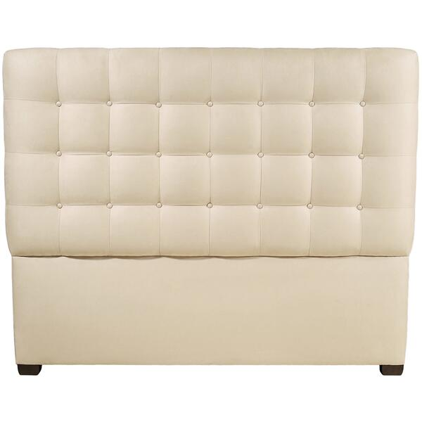 See Details - Queen-Sized Avery Button-Tufted Headboard in Espresso
