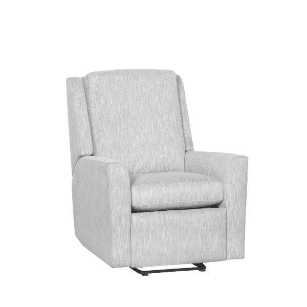 Reclination Hickory Arm Manual Push Back Wall Hugger Recliner