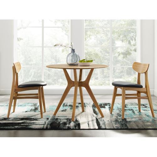 "Product Image - Sitka 36"" Round Dining Table, Caramelized"