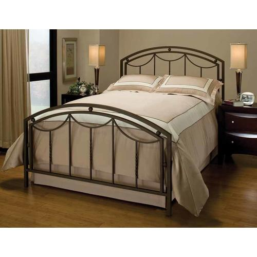 Arlington King Bed Set With Rails