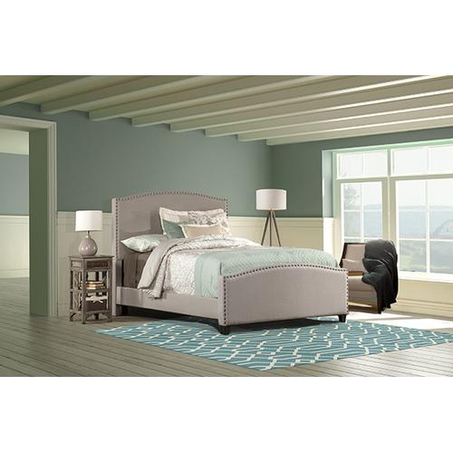 Gallery - Kerstein Bed Set - Twin - Rails Included - Dove Gray