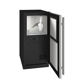 """Anb115 / Anp115 15"""" Nugget Ice Machine With Stainless Solid Finish, No (115 V/60 Hz Volts /60 Hz Hz)"""