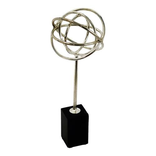 Atlas Table Top Décor Silver
