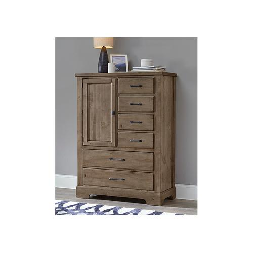 Standing Chest - 6 Drawers with 1 Door