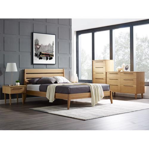 Greenington Fine Bamboo Furniture - Sienna Queen Platform Bed, Caramelized