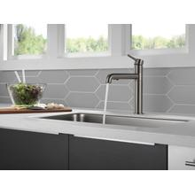 Black Stainless Single Handle Pull-Out Kitchen Faucet