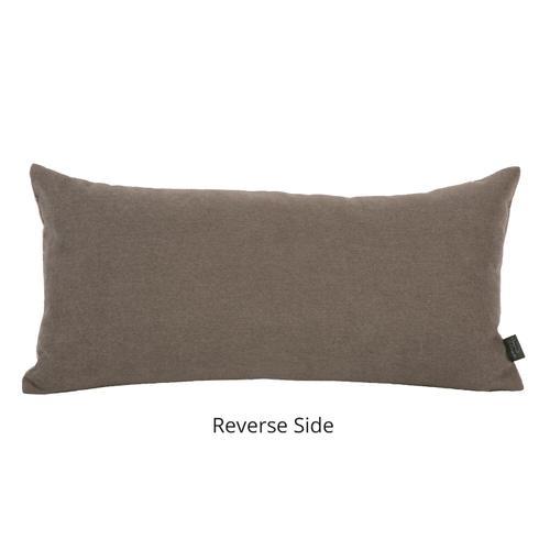 Howard Elliott - Kidney Pillow Oxford Moss - Poly Insert