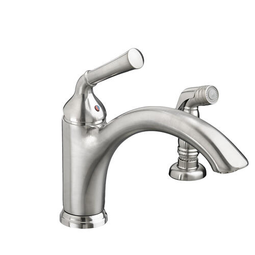 Portsmouth 1-Handle 1.5 GPM Kitchen Faucet with Side Spray  American Standard - Stainless Steel
