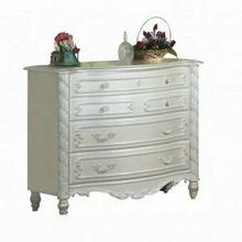 ACME Pearl Dresser (Single) - 01015 - Pearl White & Gold Brush Accent