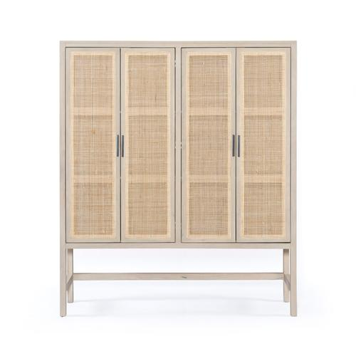 Four Hands - Natural Mango Finish Caprice Cabinet