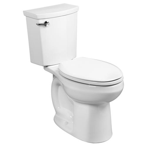H2Optimum Siphonic Right Height Elongated Toilet - 1.1 GPF - White
