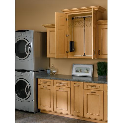 """Rev-a-shelf - Rev-A-Shelf - CPDR-1826 - Adjustable Pull-Down Closet Rod 21.5""""- 26"""""""