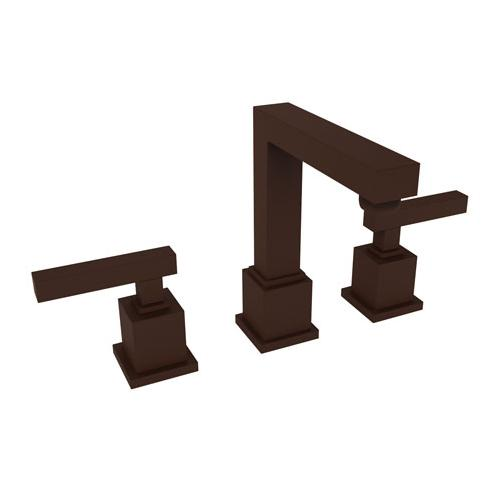 Newport Brass - Oil Rubbed Bronze - Hand Relieved Widespread Lavatory Faucet