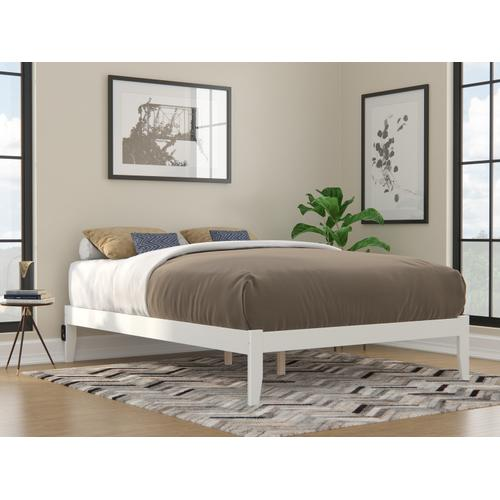 Atlantic Furniture - Colorado Queen Bed with USB Turbo Charger in White