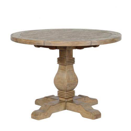 """Caleb Round Dining Table 42"""" EV"""
