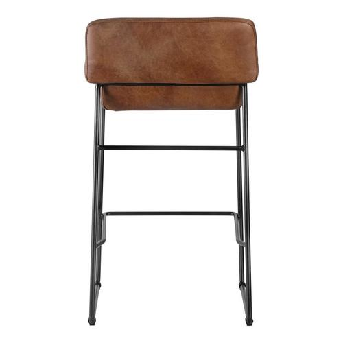 Moe's Home Collection - Starlet Counter Stool Cappuccino-m2