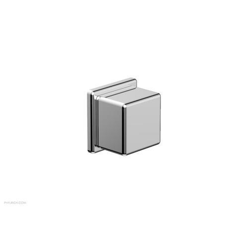MIX Volume Control/Diverter Trim - Cube Handle 290-38 - Polished Chrome