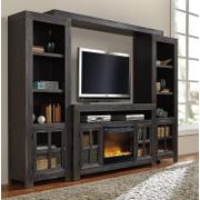 Gavelston - Black 5 Piece Entertainment Set Product Image