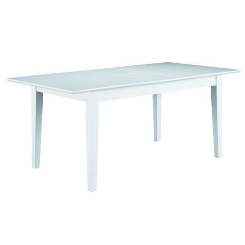 John Thomas Furniture - Extension Table in Pure White