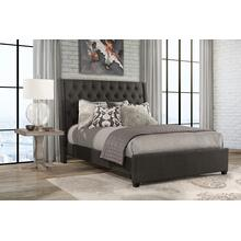 View Product - Churchill King Bed - Onyx Linen