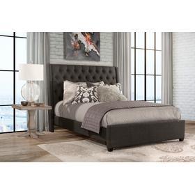 Churchill King Bed - Onyx Linen