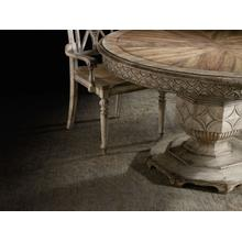 View Product - Chatelet Round Dining Table with One 20'' Leaf