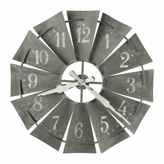 Howard Miller Windmill Oversized Wall Clock 625671