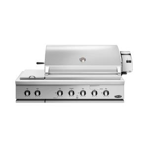 "Dcs48"" Grill, Rotisserie and Side Burners, Lp Gas"