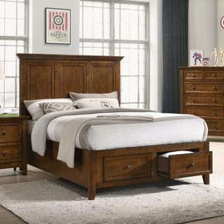 San Mateo Youth Full Bed  Tuscan