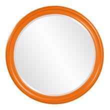 View Product - George Mirror - Glossy Orange