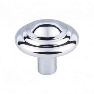 Aspen II Button Knob 1 3/4 Inch - Polished Chrome