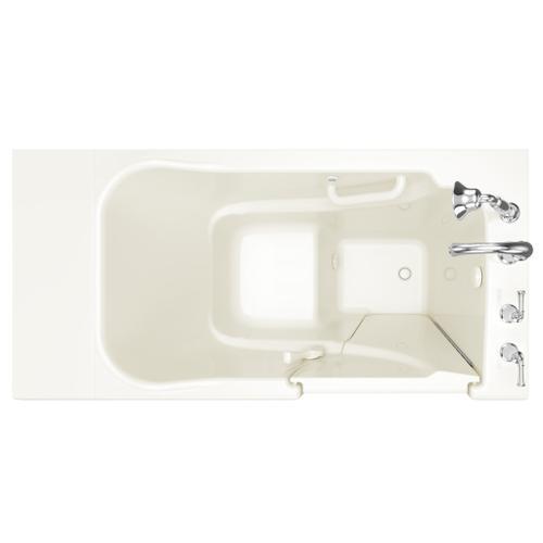 American Standard - Gelcoat Value Series 30x52-inch Walk-in Soaking Tub  American Standard - Linen