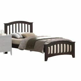 ACME San Marino Twin Bed - 04980T - Dark Walnut