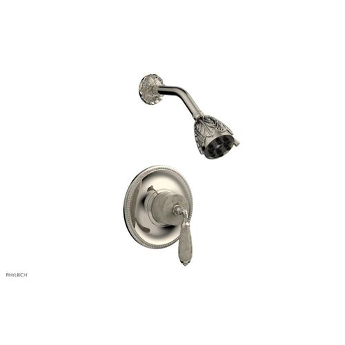 VALENCIA Pressure Balance Shower Set PB3338D - Polished Nickel