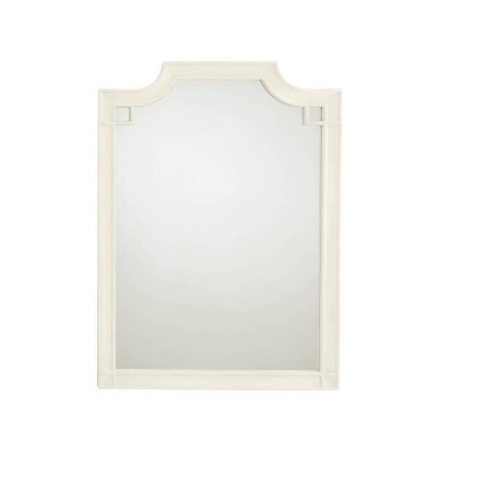 Latitude Vertical Mirror - Saltbox White