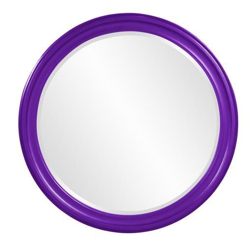 Howard Elliott - George Mirror - Glossy Royal Purple
