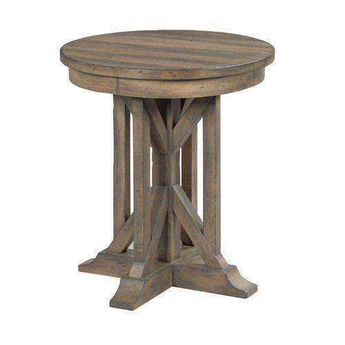 "Mill House 22"" James Round End Table"