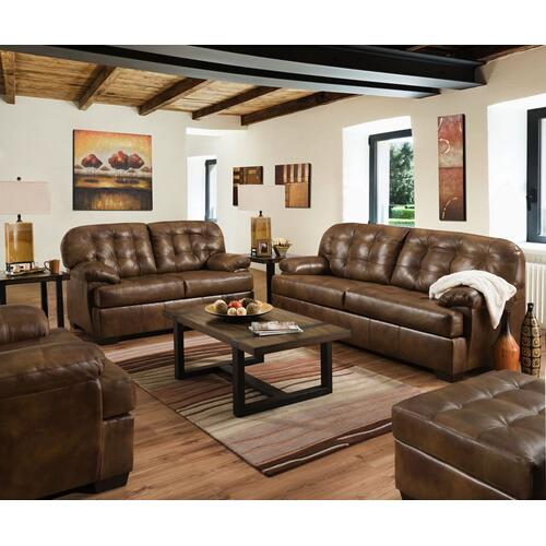 2037 Sofa in Soft Touch Chaps