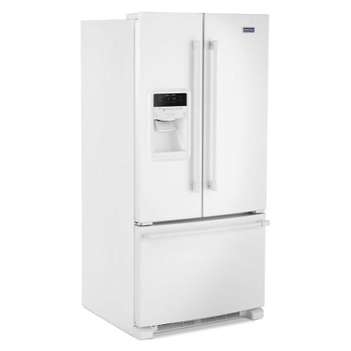 Gallery - 33- Inch Wide French Door Refrigerator with Beverage Chiller™ Compartment - 22 Cu. Ft.