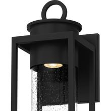 View Product - Donegal Outdoor Lantern in Matte Black