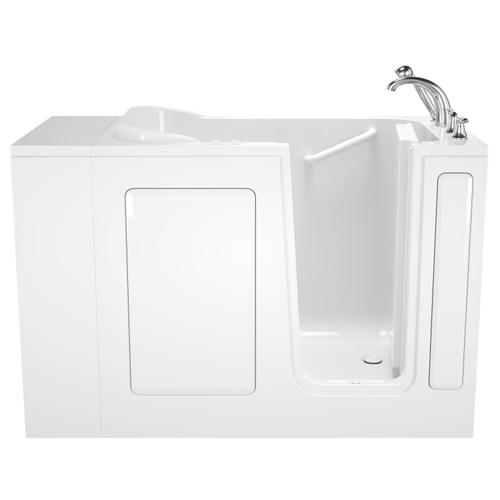 American Standard - Entry Series 48x28 Inch Walk-In Bathtub with Dual Jet and Air Massage System  American Standard - White