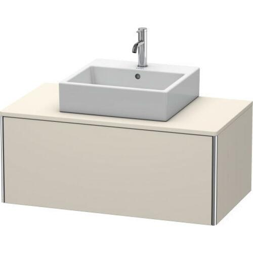 Duravit - Vanity Unit For Console Wall-mounted, Taupe Matte (decor)