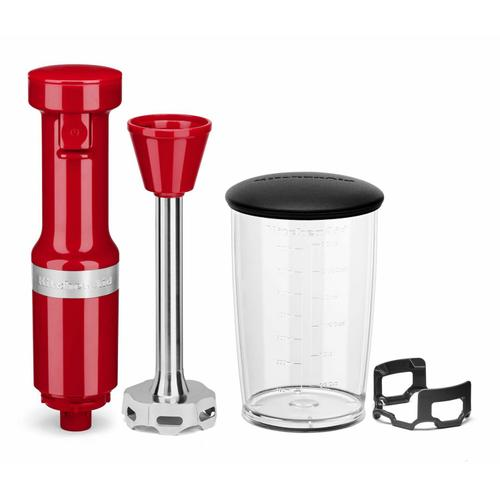 KitchenAid - Variable Speed Corded Hand Blender - Passion Red